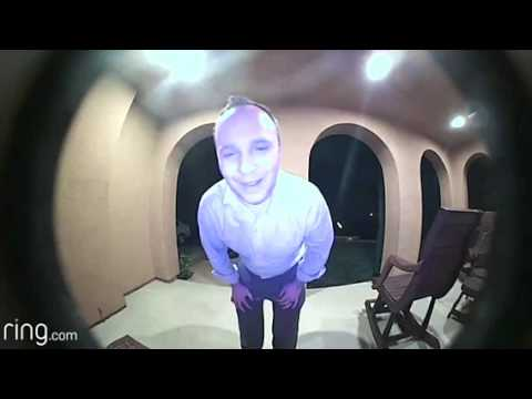 Clint Girlie - Video Doorbell Catches Man Admitting to Breaking Into Wrong House