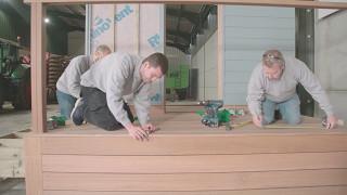 How to fit Yellow Balau Hardwood Decking