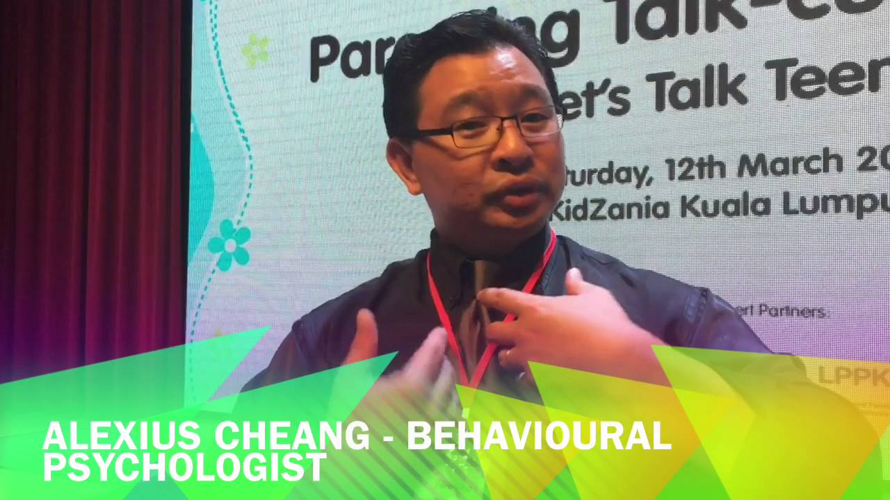 Parenting Talk-cum-forum Alexius Cheang - YouTube