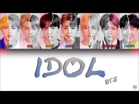 BTS (방탄소년단) - IDOL German Lyrics [Han/Rom/Ger]