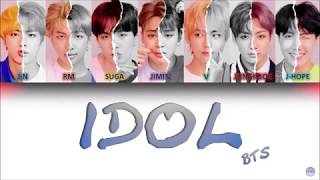 Gambar cover BTS (방탄소년단) - IDOL German Lyrics [Han/Rom/Ger]