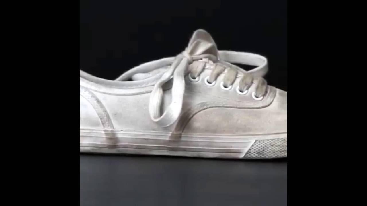 limpiar zapatillas vans blancas