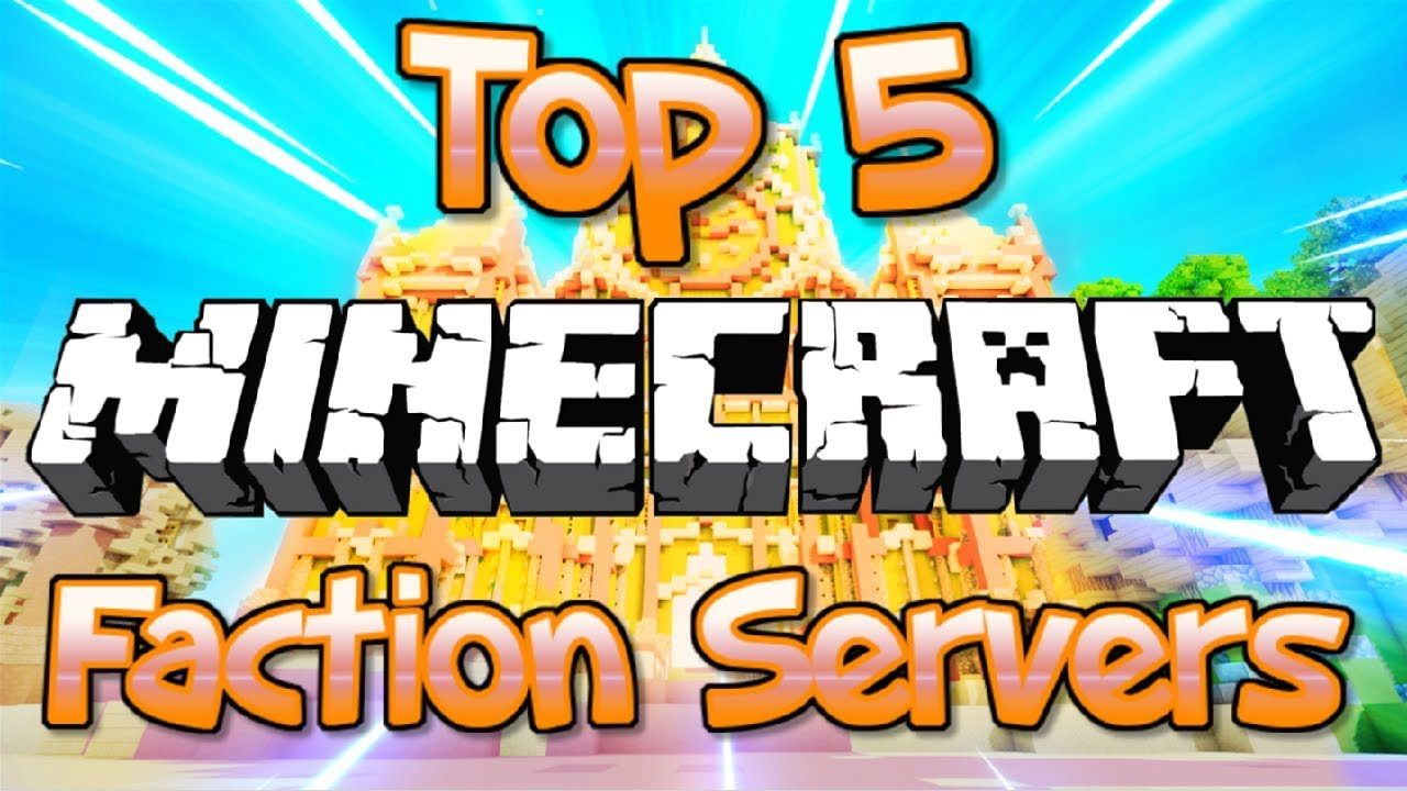 Top 5 No Premium Faction Servers 1 8 1 9 1 10 1 12 2 1 13 1 14 2019 Hd New Big Minecraft Server Youtube