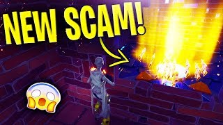 *NEW SCAM* The Defender Post Scam BEAWARE! Scammer Gets EXPOSED In Fortnite Save The World