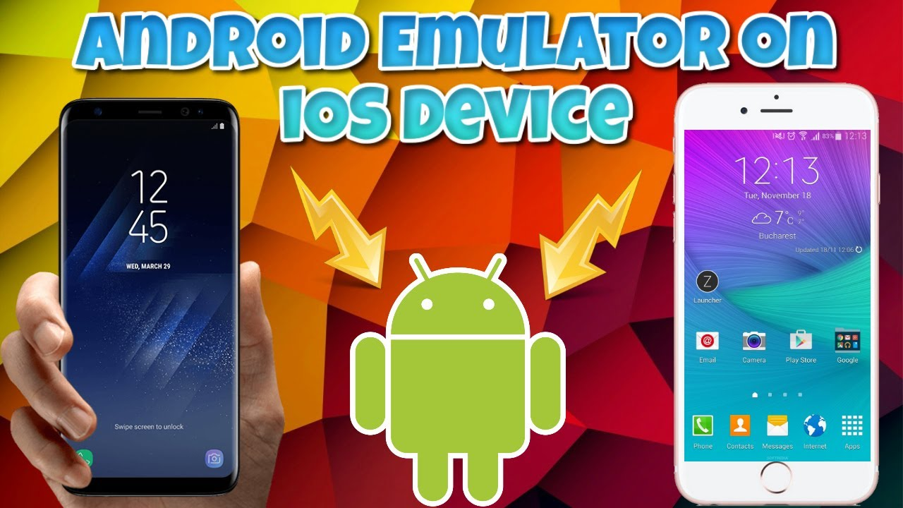 How To Emulate Android Onto iOS Devices  Android On iOS Free!!!! Demo  TechnoTrend