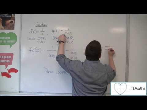 A-Level Maths: B8-09 Functions: The Domain of a Composite Function