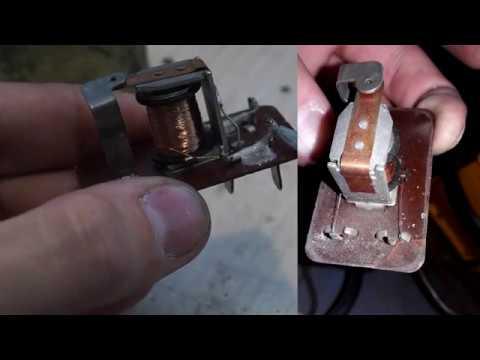 Ремонт реле РС702 лампы заряда АКБ ВАЗ 2101-2103, 2106