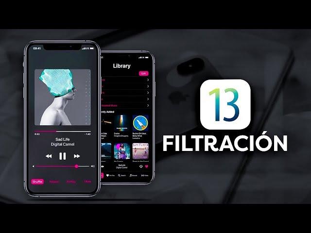 iOS 13 FILTRADO, estas son algunas novedades
