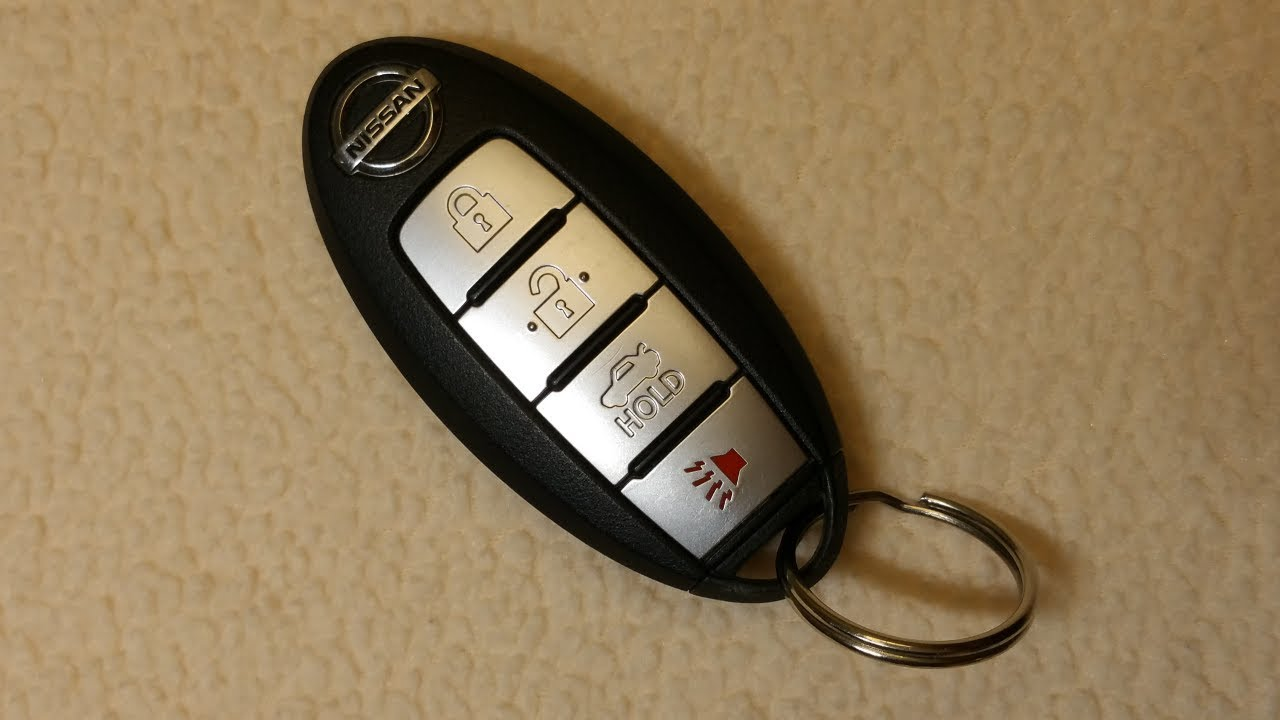 Nissan Key Fob Battery Replacement