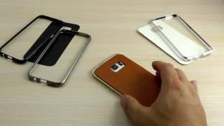 ОБЗОР: Стильный Бампер для Samsung S7 SM-G930F