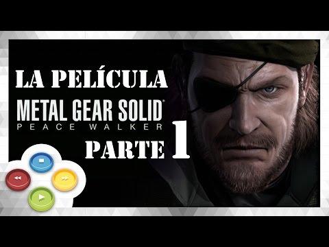 Metal Gear Solid Peace Walker HD [1/6] Full Movie | Pelicula Completa Español