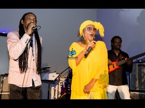 Marcia Griffiths and Glen Washington - Live On (LIVE) May 2018🎼📸