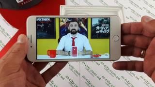 копия iPhone 7 Plus Red - видео обзор китайской копии в красном цвете!