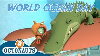Octonauts - Don't Wake Him Up | Cartoons for Kids | World Ocean Day Special