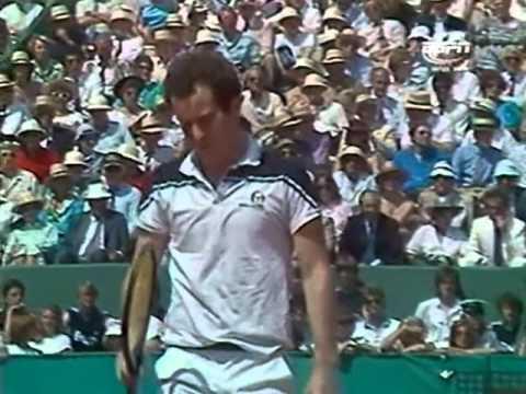 1984 Roland Garros Lendl vs. McEnroe