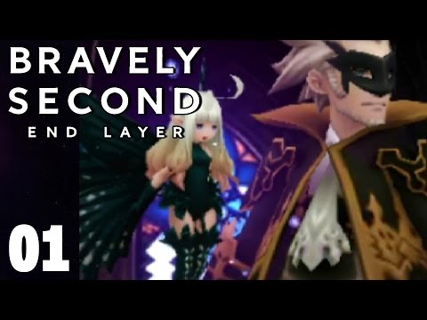 Bravely Second End Layer Part 1 Prologue Walkthrough Gameplay
