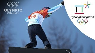 Steven Williams nearly makes Snowboard Cross quarterfinals | Winter Olympics 2018 | PyeongChang