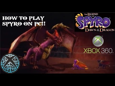 How To Download And Install Xbox 360 Emulator Xenia + Where To Find  Games/ISOs 4K - Spyro Gameplay