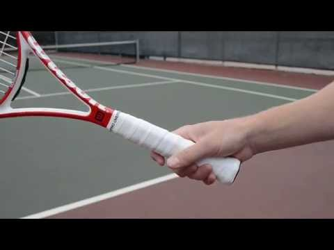 Tennis Serve Grip: The Hammer Technique