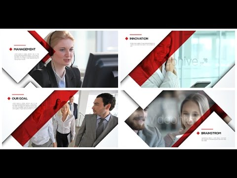 corporate video presentation - after effects template - youtube, Presentation templates