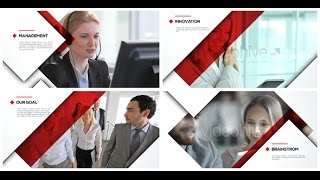 Corporate Video Presentation - After Effects Template