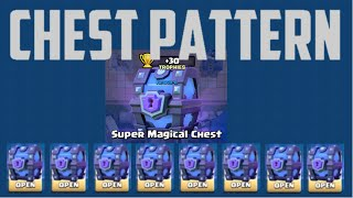 CLASH ROYALE CHEST PATTERN MAY 2016 UPDATE CHEAT/HACK!!!