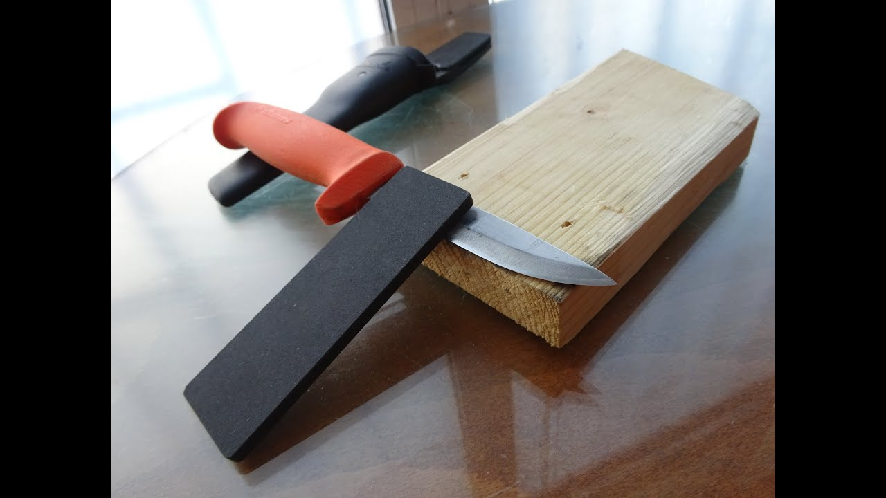 """Simple sharpening """"jig"""" - YouTube"""