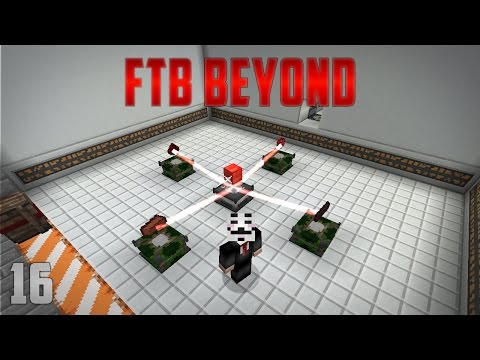 FTB Beyond EP16 Woot Ender Dragon Farm + Empowerer Automation