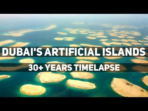 Artificial Islands of the World – Dubai, Hong Kong, Qatar Timelapse