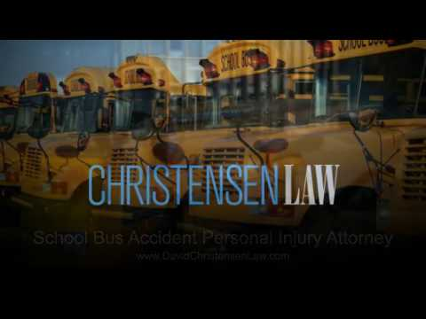 School Bus Accident Personal Injury Attorney
