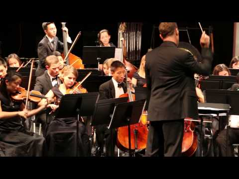 Cal High String Orchestra - Vortex by arr. Robert Longfield - Oct 23, 2014