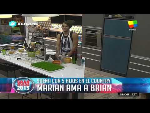 Marian aseguró que tendría cinco hijos con Brian