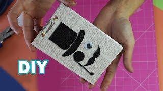 DIY Caderninho de Anotação para o Dia dos Pais 2018