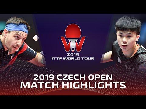 Timo Boll vs Lin Yun-Ju | 2019 ITTF Czech Open Highlights (1/2)
