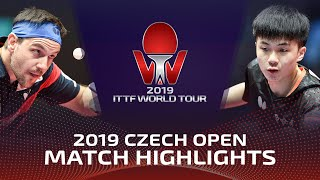 Timo Boll vs Lin Yun-Ju | 2019 ITTF Czech Open Highlights (1/2)