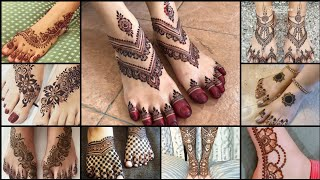 Mind blowing feet mehndi designs latest || latest collection of 2021 || #RM_Fashion
