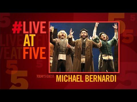 #LiveatFive with FIDDLER ON THE ROOF's Michael Bernardi