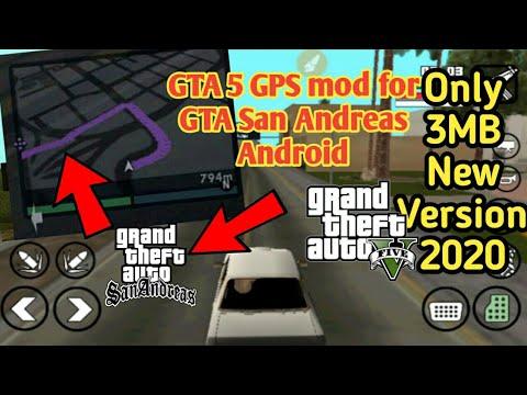 GTA V GPS Mod Android [5 MB ] | GTA V Minimap GPS Cleo mod for GTA SA Android | support All Devices