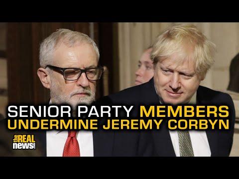 Labour Party Plot Against Corbyn Revealed
