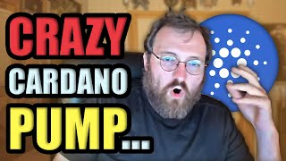WHY CARDANO IS PUMPING LIKE CRAZY... | Cryptocurrency News