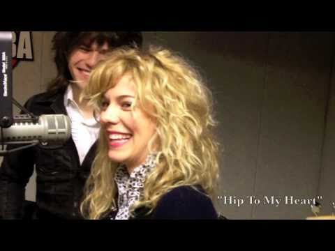 The Band Perry performs Hip to my Heart - LIVE in studio