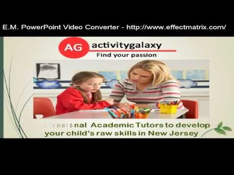Activity Galaxy to find Qualified Tutors online in New Jersey