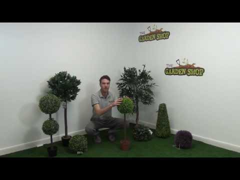 Artificial Topiary Box Ball Tree