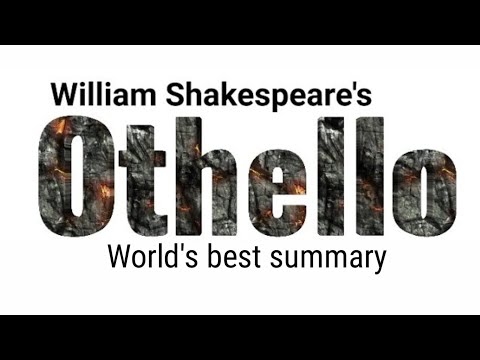 othello by William Shakespeare in hindi full analysis, explanation and summary