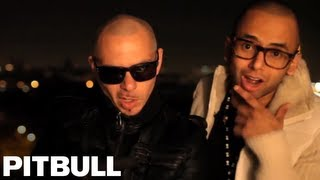 Смотреть клип Pitbull And Sensato - Latinos In Paris