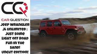Jeep Wrangler JL | Light Off Road FUN in the sand dune!