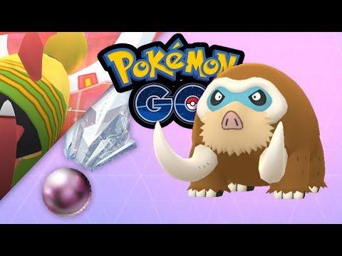 Sinnoh-Stein-Paradies, Mamutel im Pokédex | Pokémon GO Deutsch #886 thumbnail