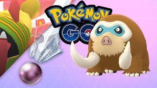 Sinnoh-Stein-Paradies, Mamutel im Pokédex | Pokémon GO Deutsch #886