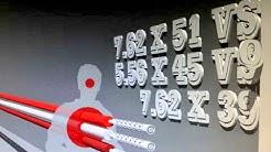 7.62x51 Vs 5.56x45 Vs 7.62x39 Trajectory of Super Sonic Range
