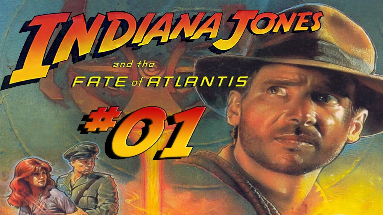 Let's Play Indiana Jones and the Fate of Atlantis (Deutsch) #01 - Abwärts!